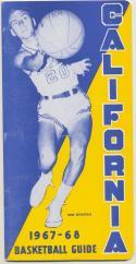University of California 1967 - 1968 Basketball Media Guide