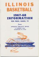 University of Illinois 1967 - 1968 Basketball Media Guide