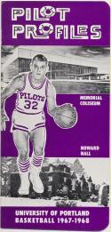 University of Portland 1967 - 1968  Basketball Media Guide    Bx CBMG