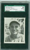1936 goudey Pepper MARTIN SGC 88 8 MINT (ONE OF ONE! HIGHEST GRADED)