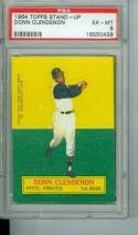 1964 topps stand-up Donn Clendenon psa 6