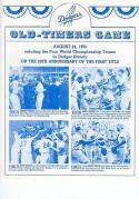 1975 Dodgers Old Timers Game Sandy Koufax