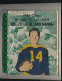 1943 NFL Official Guide Green bay packers Don Hutson em