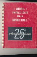 1944 NFL Roster manual em