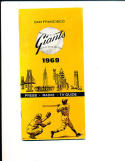 1969 San Francisco Giants press guide em