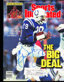 1987 11/9 signed sports illustrated Eric dickerson Baltimore Colts