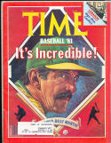 Billy Martin Oakland Athletics 5/11 1981 em  Time Magazine