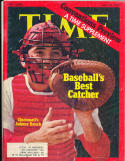 Johnny Bench Reds 7/10 1972  Time Magazine