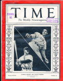 Lou Gehrig carl hubbell  New York Yankees 10/5 1936 Time Magazine