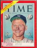 Mickey Mantle New York Yankees 6/15  1953 Time Magazine