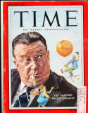 Walter O'Malley Brooklyn Dodgers 4/28 1958 Time Magazine em