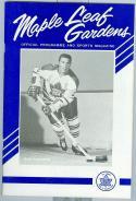 1964 NHL Stanley Cup final program Red Wings Toronto