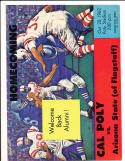 10/20 1962 Cal Poly vs NAU Football Program