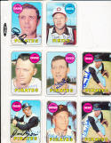 1969 Topps Signed Card Jim Bunning  Pittsburgh Pirates 175