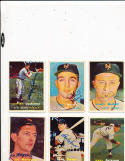 Whitey Lockman 232 New York Giants  signed 1957  Topps Signed