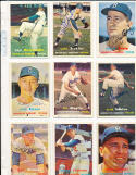 Carl Erskine Brooklyn Dodgers 252  signed 1957  Topps Signed