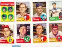 Mickey Vernon Washington Senators 402  1963  Topps Signed