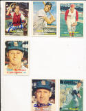 Hal Jeffcoat Reds 93  Signed 1957 Topps Card
