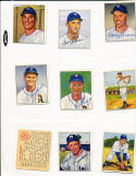 Bob Dillinger Philadelphia Athletics 105 signed 1950 Bowman card