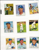 Sam Mele Senators 52 signed 1950 Bowman card
