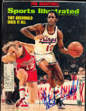 1973 10/15 Tiny Archibald Kings Signed sports Illustrated