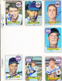 Carroll Sembera 351 Montreal Expos 1969 Topps Signed Card d05