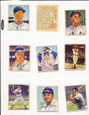 Bob Feller #6 signed 1950 Bowman Signed card