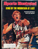 1976 12/13 Bill Walton Blazers  Signed sports Illustrated