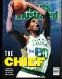 1991 3/11 Robert Parrish Boston Celtics no label Signed sports Illustrated
