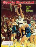 1974 2/25  Bill Walton UCLA Signed sports Illustrated