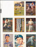 Bill Skowron 135  New York Yankees  signed 1957  Topps Signed