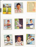 Bobby Thomson New York Giants 28 signed 1950 Bowman card