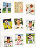 Richie Ashburn Philadelphia Phillies 84  signed 1950 Bowman card