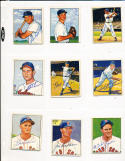 Bob Lemon Indians 40 signed 1950 Bowman card
