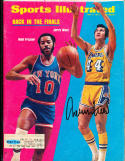 1973 5/7 Jerry West Los Angeles Lakers Signed sports Illustrated PSA