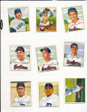 Dale Mitchell Cleveland Indians 130 signed 1950 Bowman card