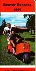 1966 Oregon State Football Press Guide em/nm