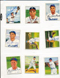 Duke Snider 77 Brooklyn dodgers signed 1950 Bowman card