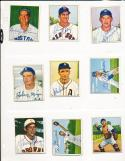 Allie Reynolds New York Yankees 138 signed 1950 Bowman d.94 card