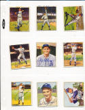 Tommy Heinrich New York Yankees #10 signed 1950 Bowman  card