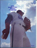 1990 Kansas City Royals Yearbook in nm