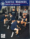 2004 Seattle Mariners Yearbook in nm