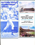 1973 All Star Press Guide nr mt Kansas city