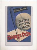 1946 Chicago Cubs Picture Parade yearbook