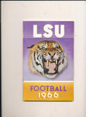 1967 LSU Football Guide em  bx pre67