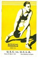 Jackie Robinson 1941 UCLA last BAsketball game program