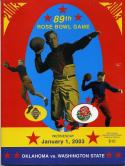 35 - 2003 89th Rose Bowl Program