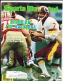 1/16 1984 Sports Illustrated Joe Theismann Washington Redskins signed