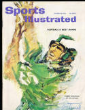 10/8 1962  Sports Illustrated Tommy McDonald eagles no label SIGNED AUTOGRAPH