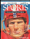 11/22 1954  Sports Illustrated YA Title San Francisco 49ers no label SIGNED AUTO